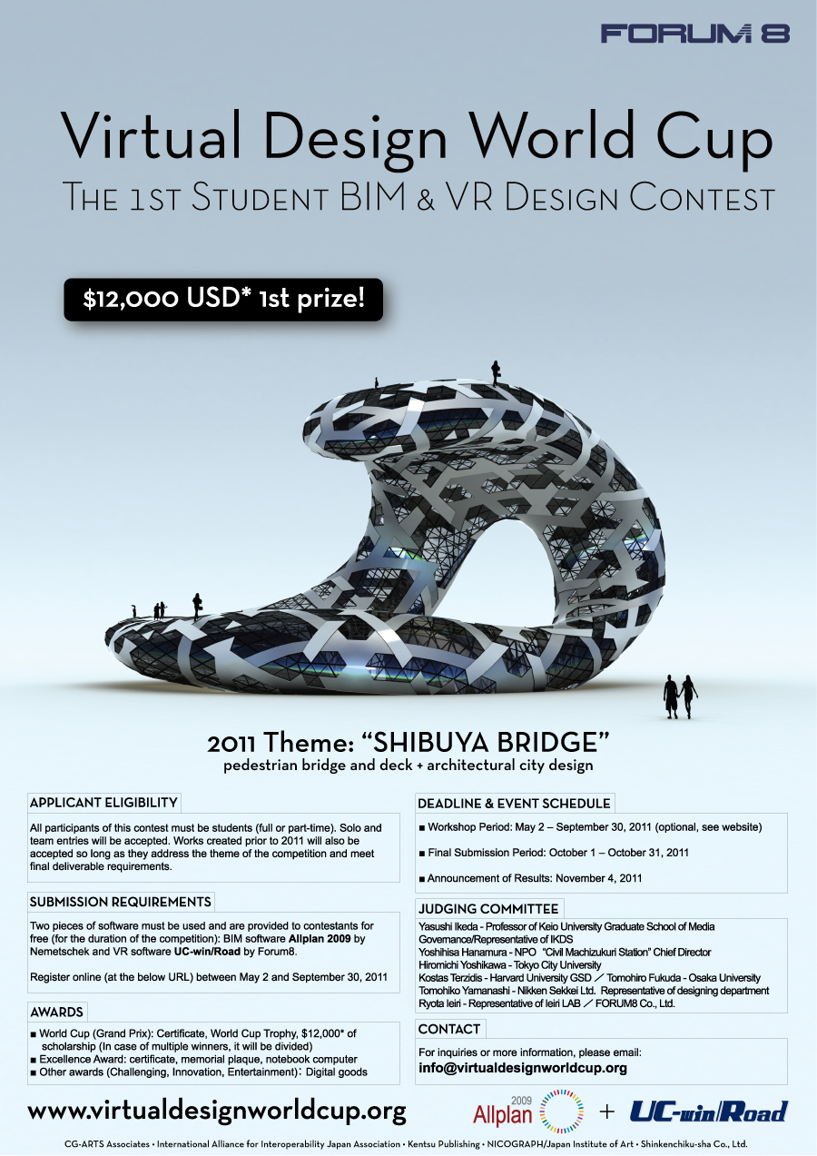 Poster layout for Virtual designers