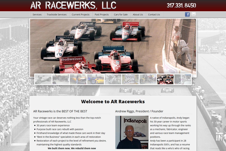 AR Racewerks home